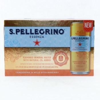 San Pellegrino Limone E Menta 89.2 oz