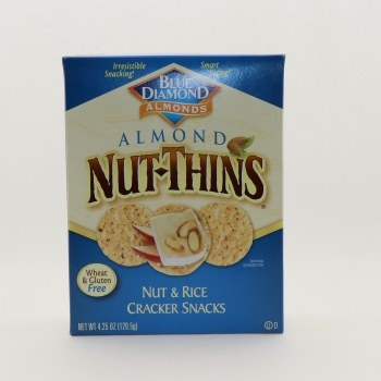 Nut Thins Almond Crackers