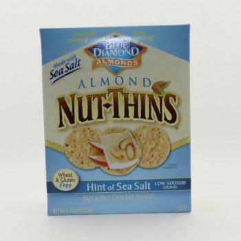 Nut Thins Sea Salt Crackers