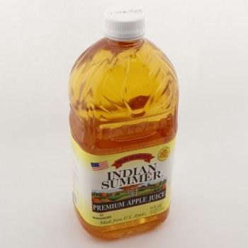 Indian Summer Apple Juice