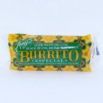 Amys Burrito Especial