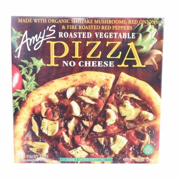 Amys Roasted Vegetable Pizza