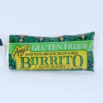 Amys Bean Rice Burrito