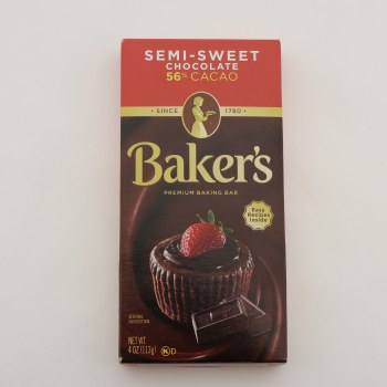 Bakers Semisweet Chocolate