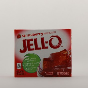 Jell o strawberry 3 oz