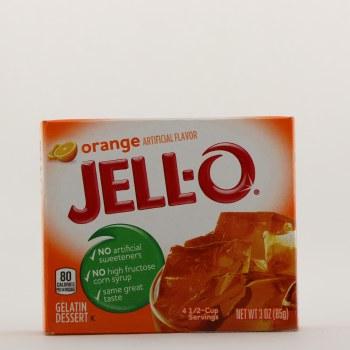 Jello Orange Gelatin
