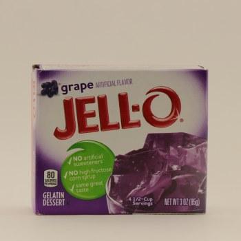 Jello Grape Gelatin 3 oz