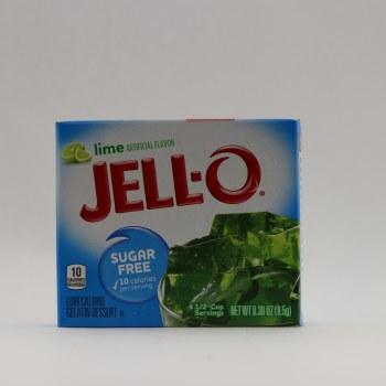 Jello Lime Sugar Free 0.3 oz