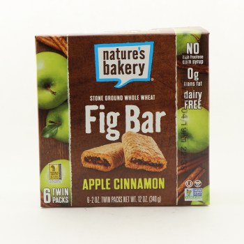 Nature's Fig Bar Apple Cinn