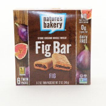Nature's Bak Fig Bar