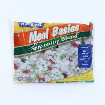 FlavRPac Seasoning Blend an Assortmen of Onions Celery Red Peppers Green Peppers and Parsley 14 oz