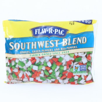 Flav-R-Pac Southwest Blend with Onions, Green Peppers and Red Peppers 12 oz