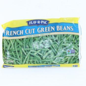 FlavRPac Frozen French Cut Green Beans 12 oz