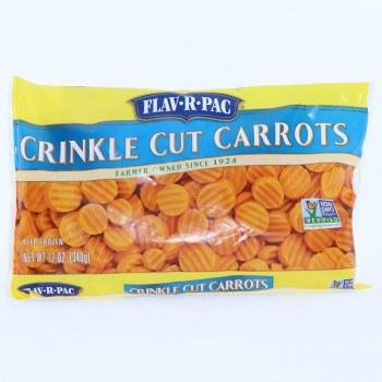 Flav-R-Pac Frozen Crinkle Cut Carrots 12 oz