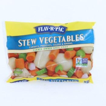 Flav-R-Pac Frozen Stew Vegetables 12 oz