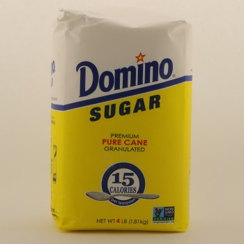 Domino Pure Cane Sugar, 4lbs 4 lbs