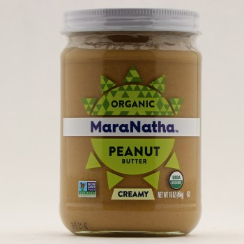 MaraNatha Organic Peanut Butter  16 oz