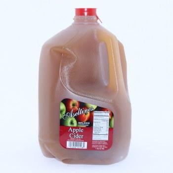 Aseltines Apple Cider, 100% Juice, Gallon Jug.  128 oz
