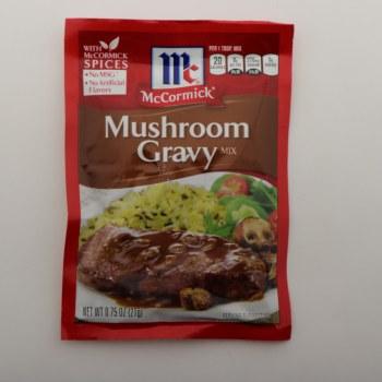 McCormick Mushroom Gravy Mix, No MSG, No Artificial Flavors 0.75 oz