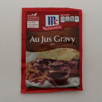 McCormick Au Jus Gravy Mix No MSG No Artificial Flavors 0.87 oz