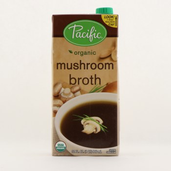 Pacific mushroom broth 32 oz