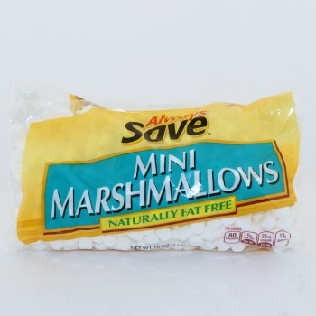 Always Save Mini Marshmallows