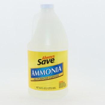 Always Save Ammonia