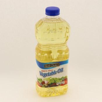 Best Choice 100% Pure Vegetable Oil 48oz 48 oz