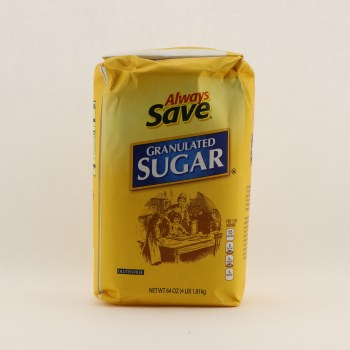 Always Save Granulated Sugar