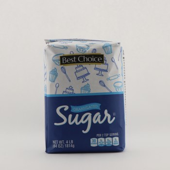 Best choice sugar 4 lb