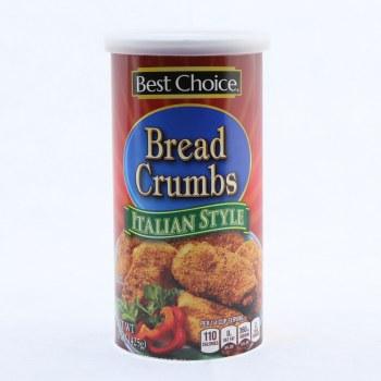 Best Choice Italian Style Bread Crumbs  15 oz