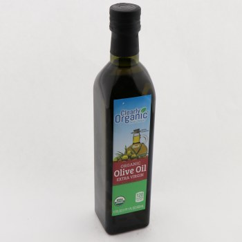 Clearly Organic Extra Virgin Olive Oil 17 oz