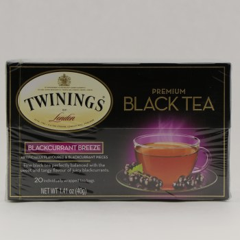 Twinings Black Currant Tea