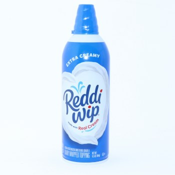 Reddi Wip Dairy Whipped Topping made with Real Cream 65oz 6.5 oz