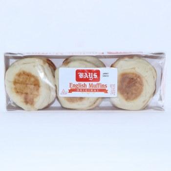 Bays English Muffins Original 6 Count  12 oz