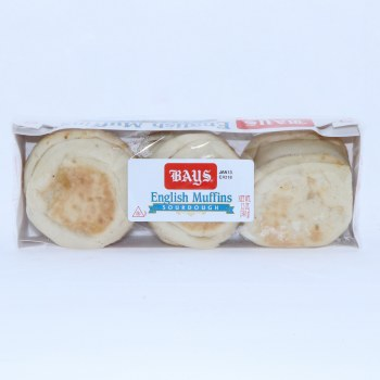 Bays English Muffin Sourdough 6 Count  12 oz