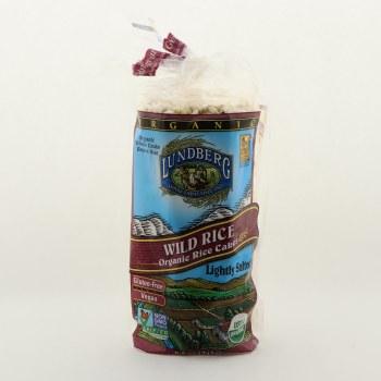 Lundberg Organic Wild Rice Cakes Lightly Salted, Gluten Free, Vegan, USDA Organic 8.5 oz