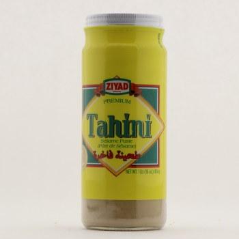 Ziyad Premium Tahini Sesame Paste, Glass Jar 16 oz