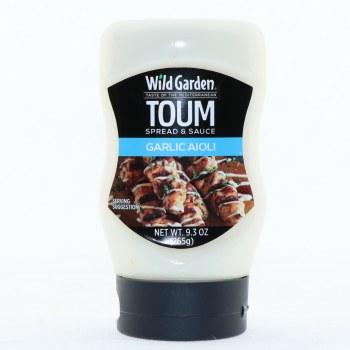 Wild Garden Toum Garlic Aioli