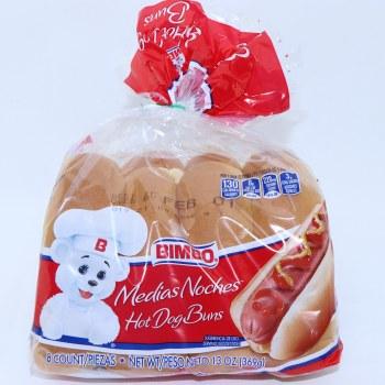 Bimbo Hot Dog Buns  13 oz