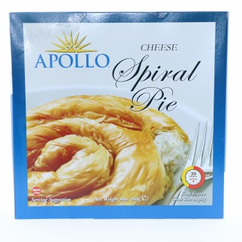 Apollo Cheese Spiral Pie