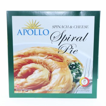 Apollo Spinach and Cheese Spiral Pie Halal 850 g