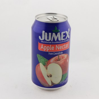 Jumex Apple Nectar From Concentrate, Contains 32% Juice, Naturally Free of Saturated Fat, Trans Fat Free, Cholesterol Free, Low Sodium  12 oz