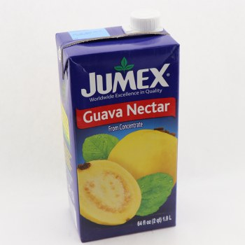 Jumex Guava Nectar From Concentrate  Naturally Free Of Saturated Fat  Trans Fat Free  Cholesterol Free  Low Sodium  Pasteurized Product