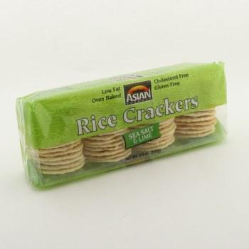 Asian Salt Lime Rice Crackers