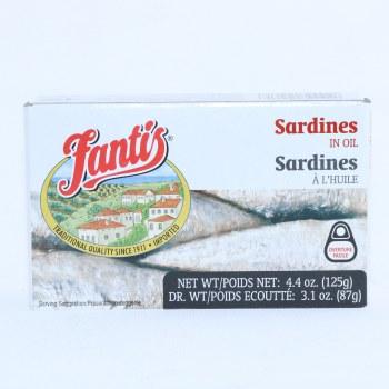 Fantis Sardines In Oil