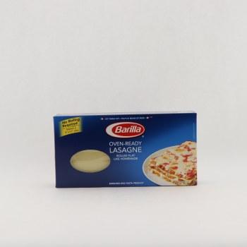 Barilla Oven Ready Lasagne Rolled Flat 9 oz