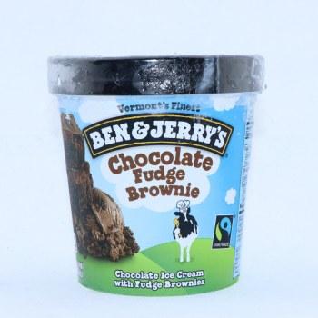 Ben & Jerrys Ice Cream  Chocolate Fudge Brownie. Non GMO.