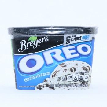 Bryers Ice Cream. Oreo Cookies and Cream. 48 oz