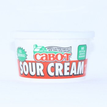 Cabot Sour Cream 8oz 8 oz